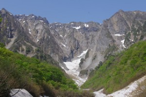 谷川岳 一の倉雪渓